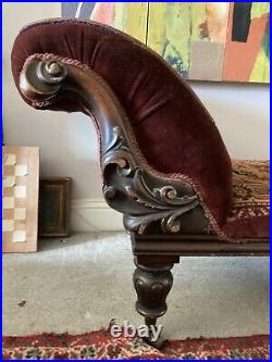 A Stunning antique chaise longue