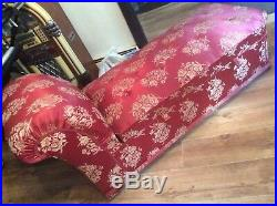 Antique Chaise Lounge Beautifull Day Bed With Storage