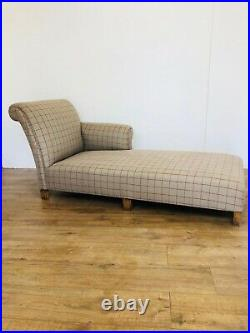 Antique Edwardian Chaise Longue Day Bed Sofa