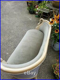 Beautiful Edwardian Style Parlour sofa/settee/chaise/seat Can Deliver