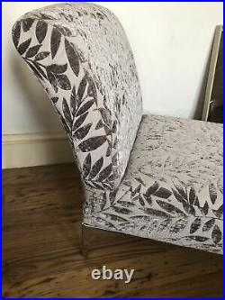 Beautiful Little Chaise Lounge. Small Couch. Childs Boudoir Reupholstered