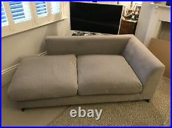 Camerich Designer Grey Chaise Longue Lounge Sofa Daybed Chair