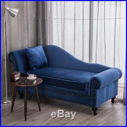 Chaise Longue Sofa Bed 2 Seater Lounge Chair Settee Couch End Stool Window Seat