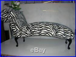 Chaise Lounge Designer Style Relaxing Retro Sofa Back Less
