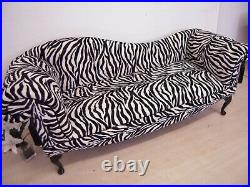Chaise Lounge Designer Vintage Style Lounge Retro Sofa Double Ended