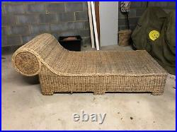 Chaise longue Beautiful Wicker piece to suit any room or even the garden