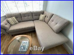 DFS French Connection Corner Sofa With Chaise Longue MUST BE SOLD ASAP