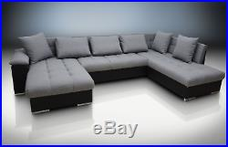 Express Delivery! Double Corner Sofa Bed Eric, Large Bedding Place
