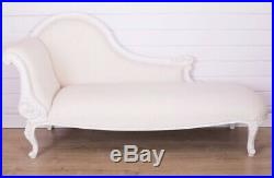 French Shabby Chic Chaise Lounge