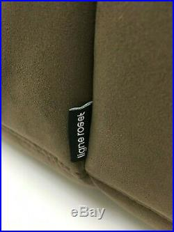 Genuine Ligne Roset Two seater Togo sofa chaise longue Brown