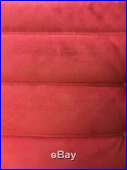 Genuine Red Design Ligne Roset Two seater Togo sofa chaise longue