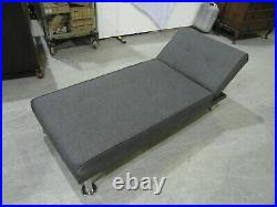 Grey Chaise Longue multi position very good condition, new in 2015