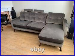 John Lewis sofa with Chaise longue, very good condition hardly used