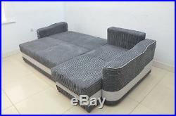 Jumbo Cord In All Colours, Corner Sofa Bed Aramis, Sturdy Bed For Everyday
