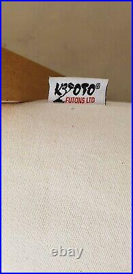 Kyoto Futon Sofa Day Bed and chaise Longue with pull out storage Drawer