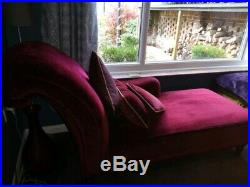 Laura Ashley Chaise Lounge with cushions