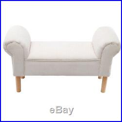 Linden/Velvet Bedroom Chaise Longue Window Seat Bed End Sofa Bench Ottoman Chair