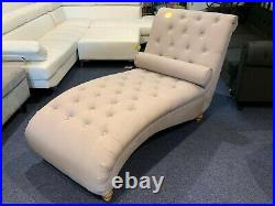 Luxurious Chaise Lounge Grey Clearance