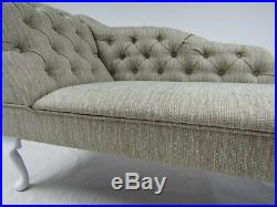 SALE ITEM BUTTONED CHAISE LONGUE, Day Bed, Sofa, Chair