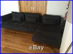 Soderhamn 4 seat sofa, with chaise longue (Ikea). In perfect condition