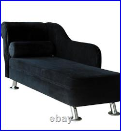 Traditional Chaise Longue Modern Sofa Bed Black French Furniture Classic Room