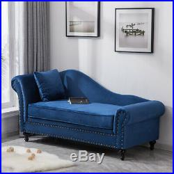 Tufted Velvet Chesterfield Chaise Longue Lounge Sofa Bed Corner 2 Seater Bench