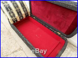 Vintage, 1930's, day bed, sofa, ottoman, storage, chaise longue, castors, settee, blanket